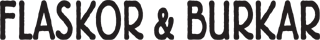 Flaskor & Burkar Logo